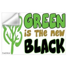 Green Is The New Black Wall Decal