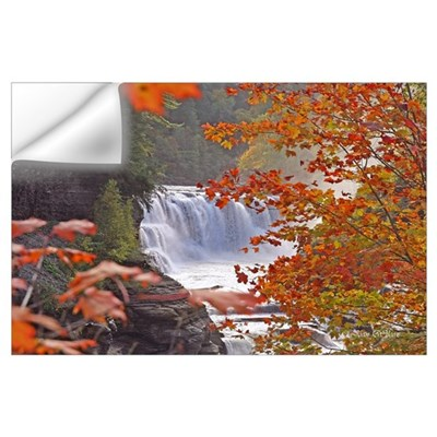 Autumn Falls Print Wall Decal