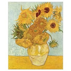 Van Gogh Sunflowers Framed Print
