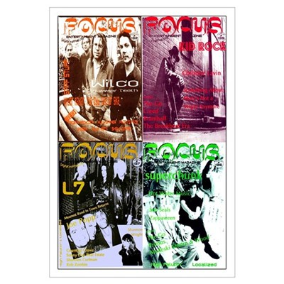 Focus Mag Print Canvas Art