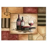 Wine Wrapped Canvas Art