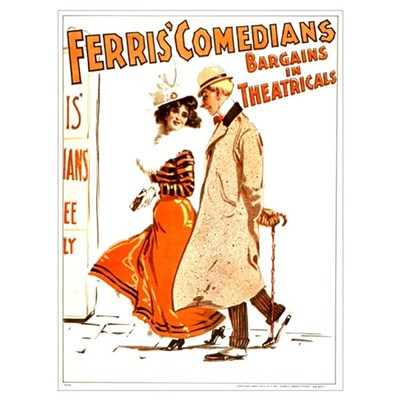 Ferris Comedians (B) Canvas Art
