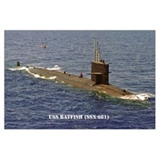 USS BATFISH Poster