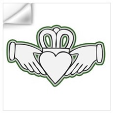 Claddagh Design Wall Decal