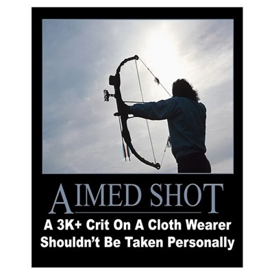 Aimed Shot Poster