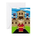 Roman Emperor at Fort Greeting Cards (Pk of 20)