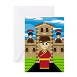 Roman Emperor at Fort Greeting Card