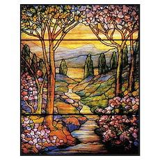 Tiffany Landscape Un Poster
