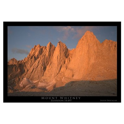 Mt. Whitney Framed Print