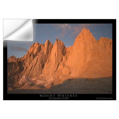 Mt. Whitney Wall Decal