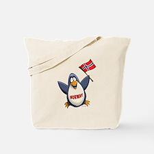 Norway Penguin Tote Bag