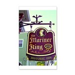 The Mariner King Inn sign 38.5 x 24.5 Wall Peel