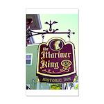 The Mariner King Inn sign 22x14 Wall Peel