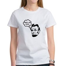 Lincoln Party On Tee