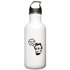 Lincoln Party On Water Bottle