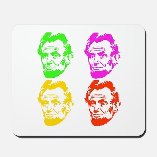 Lincoln Warhol Mousepad