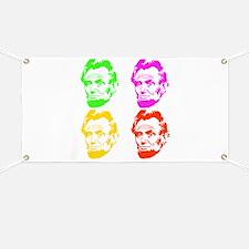 Lincoln Warhol Banner