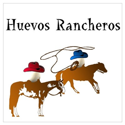 Huevos Rancheros Canvas Art