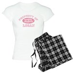 Property of Logan Women's Light Pajamas