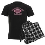Property of Logan Men's Dark Pajamas