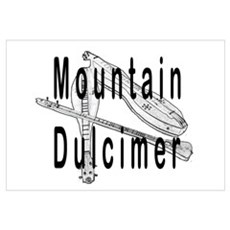 Mountain Dulcimer Poster