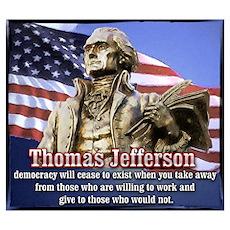 Thomas Jefferson quotes Poster