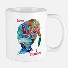 Manatees in Many Colors Mug