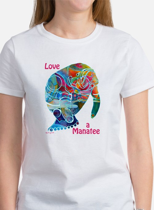 Manatees in Many Colors Tee