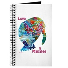 Manatees in Many Colors Journal