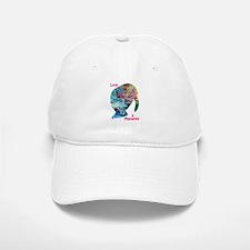 Manatees in Many Colors Baseball Baseball Cap