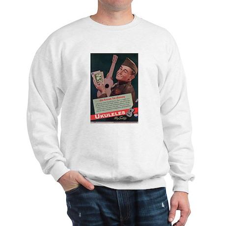 Ukuleles Satisfy! Sweatshirt