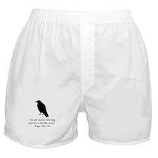 Edgar Allen Poe Quote Boxer Shorts