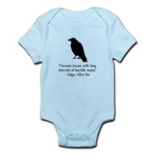 Edgar Allen Poe Quote Infant Bodysuit