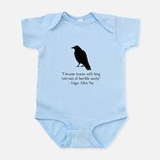 Edgar Allen Poe Quote Infant Bodysuit