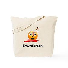 Emurdercon Tote Bag