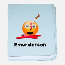 Emurdercon baby blanket