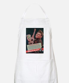 Ukuleles Satisfy! Apron