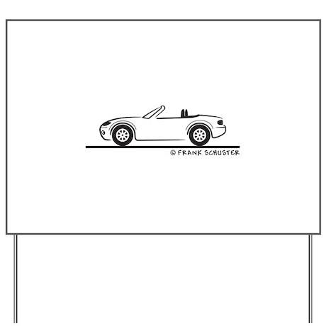 Mazda Miata MX-5 NB Yard Sign