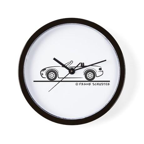 Mazda Miata MX-5 NB Wall Clock