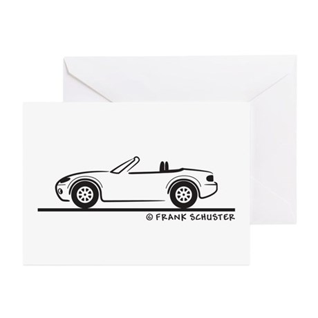 Mazda Miata MX-5 NB Greeting Cards (Pk of 20)