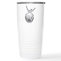 AppleTVHacks.net Stainless Steel Travel Mug