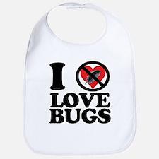 i hate lovebugs Bib