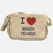 I heart berger picards Messenger Bag