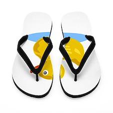 Rubber Duck Flip Flops