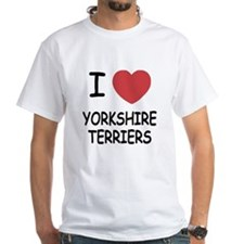I heart yorkshire terriers Shirt
