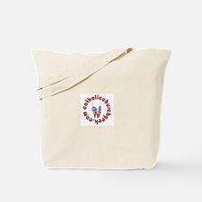 Cute Catholic youth Tote Bag