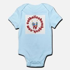 Funny Catholic youth Infant Bodysuit