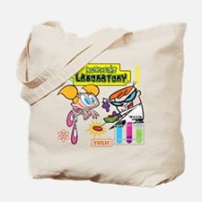 Dexters Laboratory With Dee Tote Bag