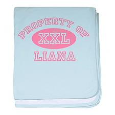 Property of Liana baby blanket