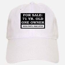 For Sale 71 Year Old Baseball Baseball Cap